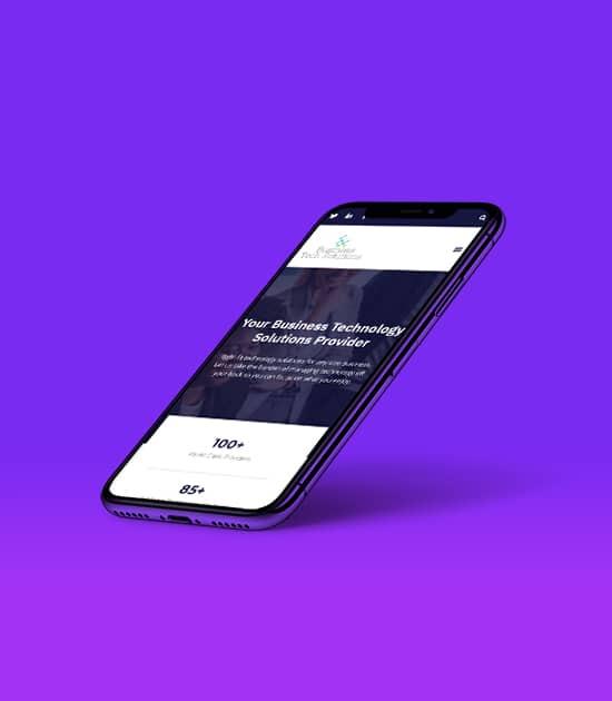 Iphone X Mockup Website