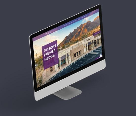 iMac Mockup Website